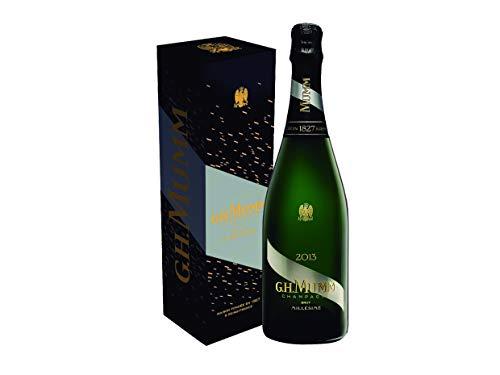 Mumm Millésimé 2013, Brut Vintage Champagne Pack regalo- 750ml