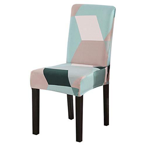 AllRing - Funda para silla de spandex estampada, elástica, universal, para...