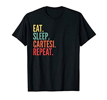 Cartesi Crypto Eat Sleep Cartesi Repeat T-Shirt