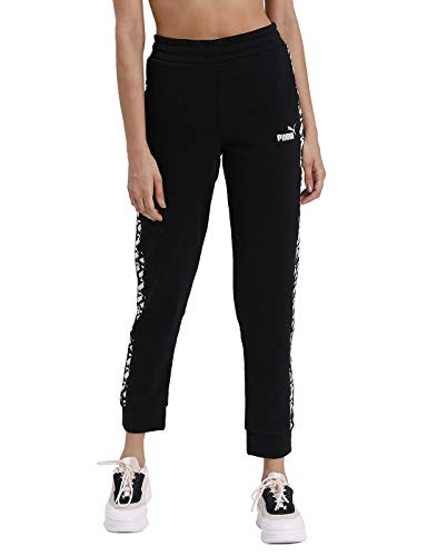 PUMA Damen Jogginghose Amplified Pants TR cl, M, 581221, Puma Black