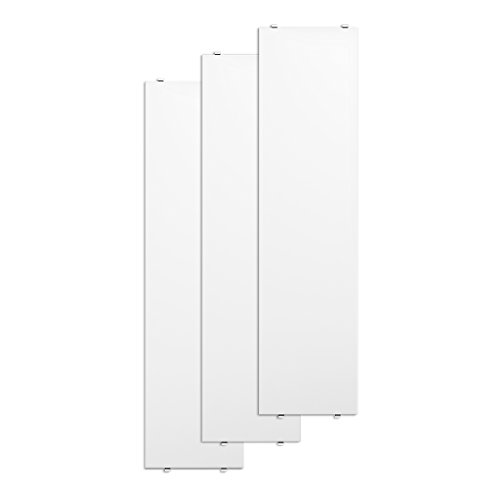 Unbekannt String - Regalboden 78 x 20 cm (3er-Pack), weiß lackiert