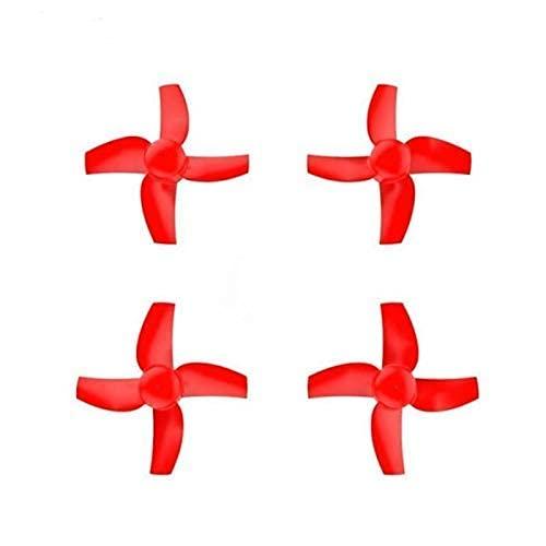 Maquer Accessori per droni Elica per Eachine M80S M80 Micro FPV Racer Quadcopter Ricambi per droni Puntelli per eliche a 4 Pale Accessori per droni