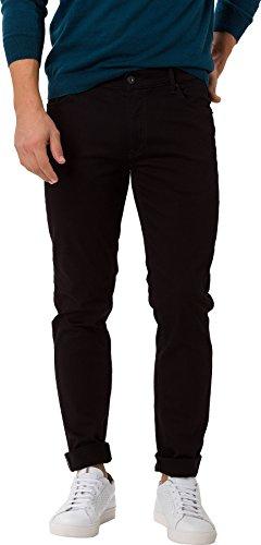 BRAX Herren Style Chuck Five-pocket-jeans Hochelastische Hi-flex-denim Modern Fit Jeans, Schwarz (Perma Black 01), 38W / 32L