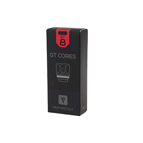 Vaporesso NRG GT8 Core Coil 0.15 Ohm 3 Stück