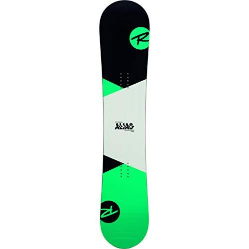 Rossignol Alias - Pack de Tablas de Snowboard (Incluye Fijaciones para Hombre (Talla S/m), Color Verde, Verde, 130 cm