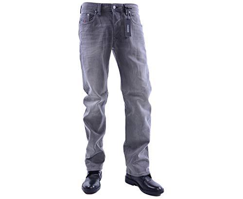 Diesel Larkee grijs heren straight jeans 084JK 84JK