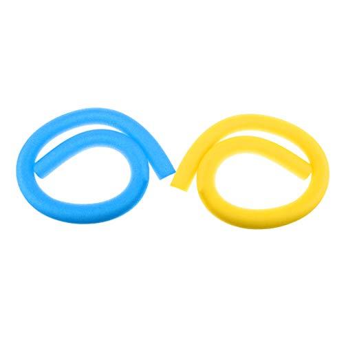 Amagogo 2 Uds, Niños Adultos, Fideos Flexibles, Tubo Flotante de Espuma Hueca, Herramientas para Deportes Acuáticos