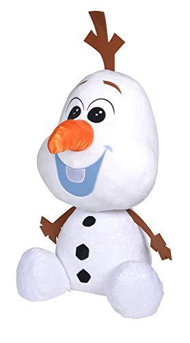 Simba- Disney Frozen 2 / Riesen-Olaf / 100cm / Exklusiv/Schneemann/Weicher Plüsch/Mit Schneeflocken-Print/limitiert Gigante (100 cm), diseño de muñeco de Nieve, Color 1. (6315874217)
