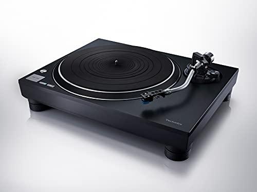 Technics SL-100CEG-K Plattenspieler mit Direktantrieb, schwarz