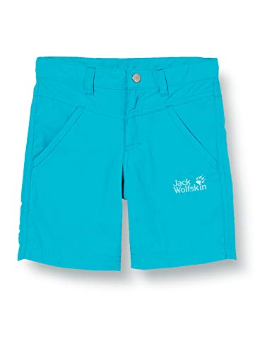 Jack Wolfskin Sun Shorts Enfants Shorts Enfant Blue Reef FR: XS (Taille Fabricant: 176)