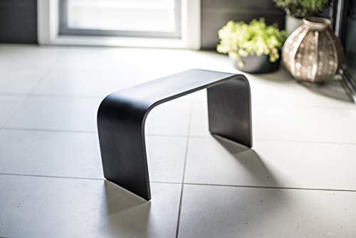 Squatty Adult Toilet Step Stool. Matt Black PROPPR Timber Bathroom Potty Stool. for Those Who Love to Make A Bold Statement.