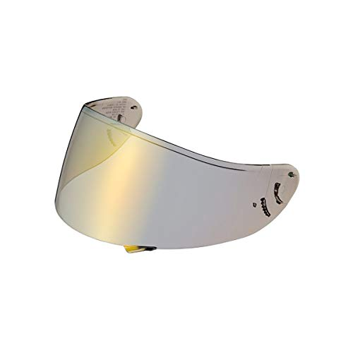 Shoei Spectra Shield with Pinlock Pins CWR-1 Street Motorcycle Helmet Accessories - Gold - for RF-1200