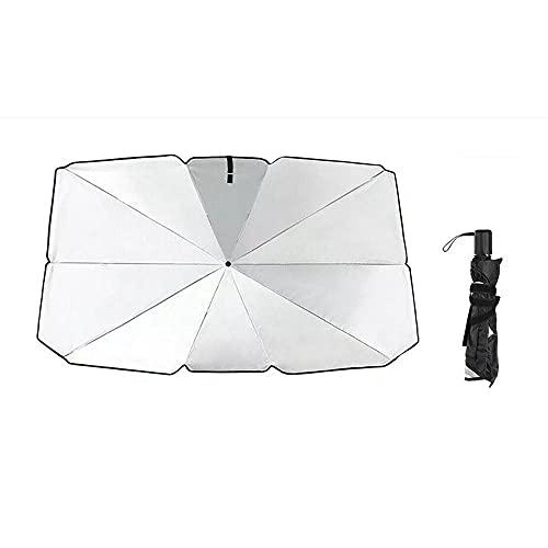 parasole auto 120x80 Sun Ombrello Pieghevole Auto Pieghevole Interni Parabrezza Parasole Cover Front Window Protezione Uv Shade Parasol-L.