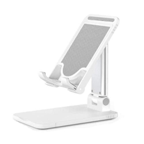 Wivarra Soporte de Escritorio con Base Antideslizante Plegable Extensible y áNgulo Ajustable para, TeléFono MóVil, Tablet