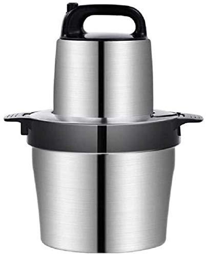 JNWEIYU Robot de Cocina, máquina de Picar Carne 6L Acero Inoxidable máquina...