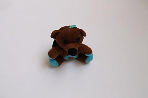 SFIZIOSA Peluche ours pour chien - Couleur marron