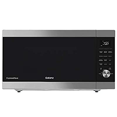 Galanz ExpressWave Sensor Microwave Oven, Patented Inverter Technology, 10 Variable Power Levels, Express Cooking Knob, 2.2 Cu.Ft/1250W, Stainless Steel, Ft