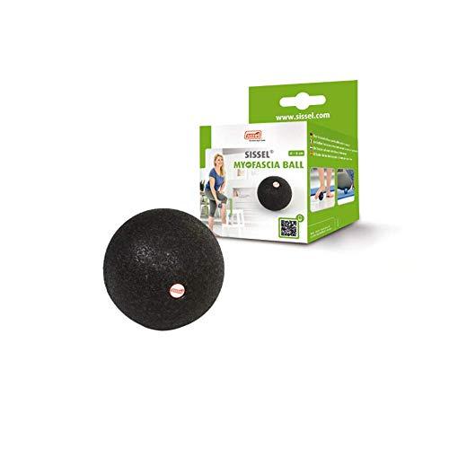 Sissel Myofascia Ball ca. 8 cm, schwarz Faszienball, Durchmesser