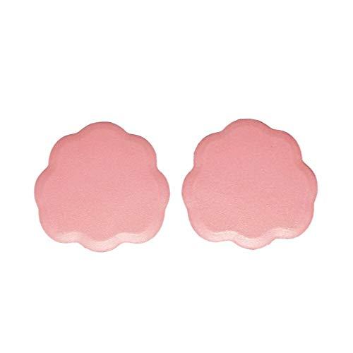 Lcjtaifu Komfort-Einlegesohle Hoch Heel Front Pad Ipair Silikon-Einlegesohle lindert Schmerzen im Vorfußbereich 1 Paar (Color : Pink, Size : M)