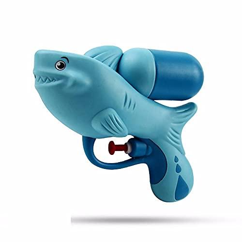 LAMCE Pistola de Agua para niños Juguetes de Agua Verano al Aire Libre Playa Juguetes a la Deriva Madre y bebé bañándose Dinosaurio Pistola de Agua Regalos Blue