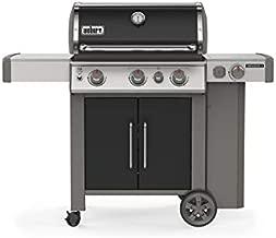 Weber 61016001 Genesis II E-335 3-Burner Liquid Propane Grill, Black