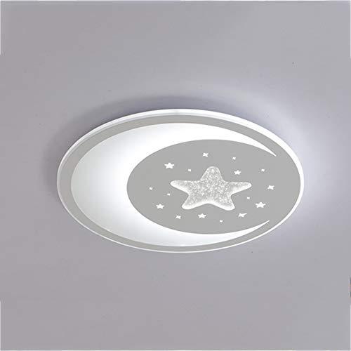 LED Luz de techo Moderno Plafón Regulable circular Lámpara de techo Cuarto...