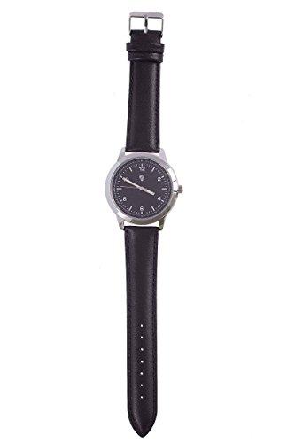 Auriol® Leder Armbanduhr mit Leuchtzeigern 2-LD4647-2