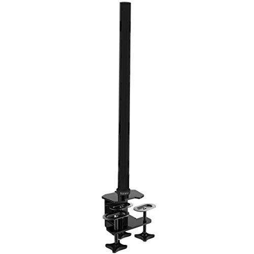 Duronic DM 80 cm Pole/Stange – kompatibel mit Allen Duronic Monitorhalterungen/Tischhalterungen - Bietet zusätzliche Flexibilität beim Einstellen der Displayhöhe