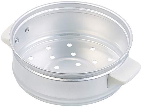 Rosenstein & Söhne Zubehör zu Ricecooker: Dampfgar-Einsatz aus Aluminium für Reiskocher RK-500 (Kochtopf)