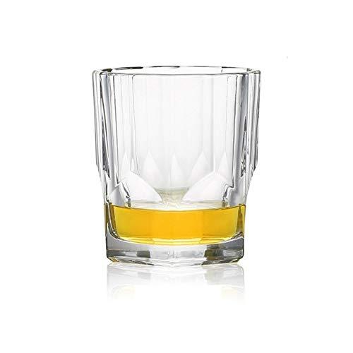 WENYOG Copas De Vino Fiesta de Navidad Copa Vaso de Whisky de Cristal de Cristal Copas de Alta Capacidad del Vidrio de Cerveza Taza del Vino Bar Hotel cristalería 08 (Color : NO7 300ml)