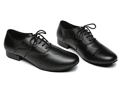 Minitoo ,  Herren Tanzschuhe , Schwarz – schwarz – Größe: 42.5 - 4