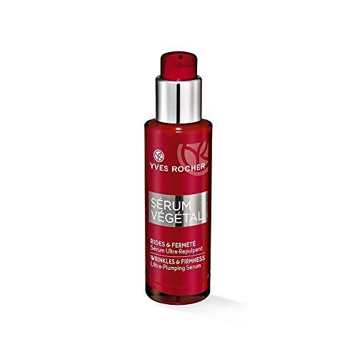 Yves Rocher SÉRUM VÉGÉTAL intensiv aufpolsterndes Serum, hochkonzentriete Anti-Aging-Pflege, 1 x Pump-Flacon 30 ml