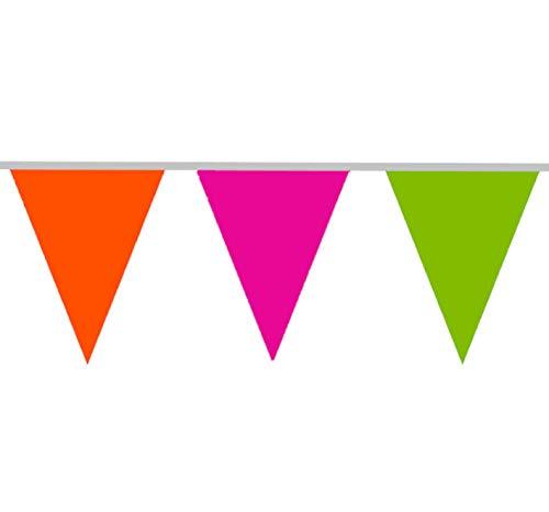 Bandierine multicolori - 10 metri