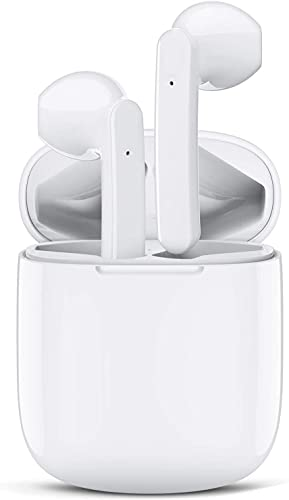 ASENTER Cuffie Bluetooth, Auricolari Bluetooth 5.1 con Stereo HiFi, Cuffie Wireless con Microfono, Cuffiette Bluetooth con Controllo Touch IPX5 Impermeabili per Phone Samsung Android