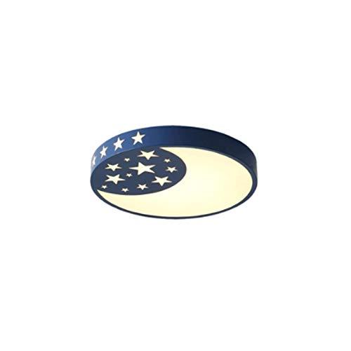 JYDQM Lámpara moderna minimalista redonda creativa de techo, dormitorio, habitación de los niños, decoración doméstica de la lámpara
