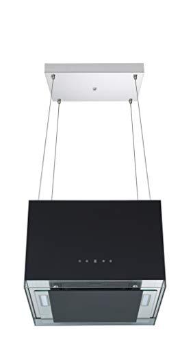 respekta Hotte îlot design 50 cm, noir, CH11050ISB, classe d'efficacité énergétique : B