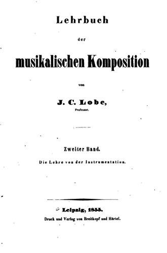 Lehrbuch der Musikalischen Komposition