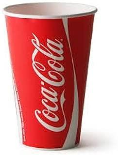 Coca-Cola 100 X Cups & Lids Official Brand 12Oz