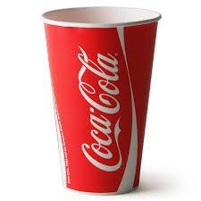 Coca-Cola 100 X Bekers & Deksels Officiële Merk 12Oz