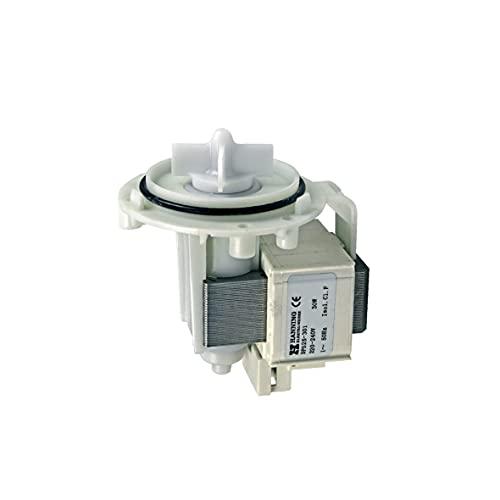 Europart 10002886 Ablaufpumpe Magnettechnikpumpe Pumpenmotor Pumpe Solo 30 W Waschmaschine Schraubenbefestigung Hanning DPS25-301 UNIVERSAL passend Bosch Siemens 141326 141120 144488