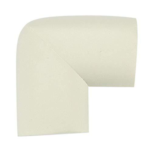 YeVhear Mobilier - Funda de espuma para escritorio, borde de mesa, protector de esquinas, cojines, parachoques, guardabarros, color blanco