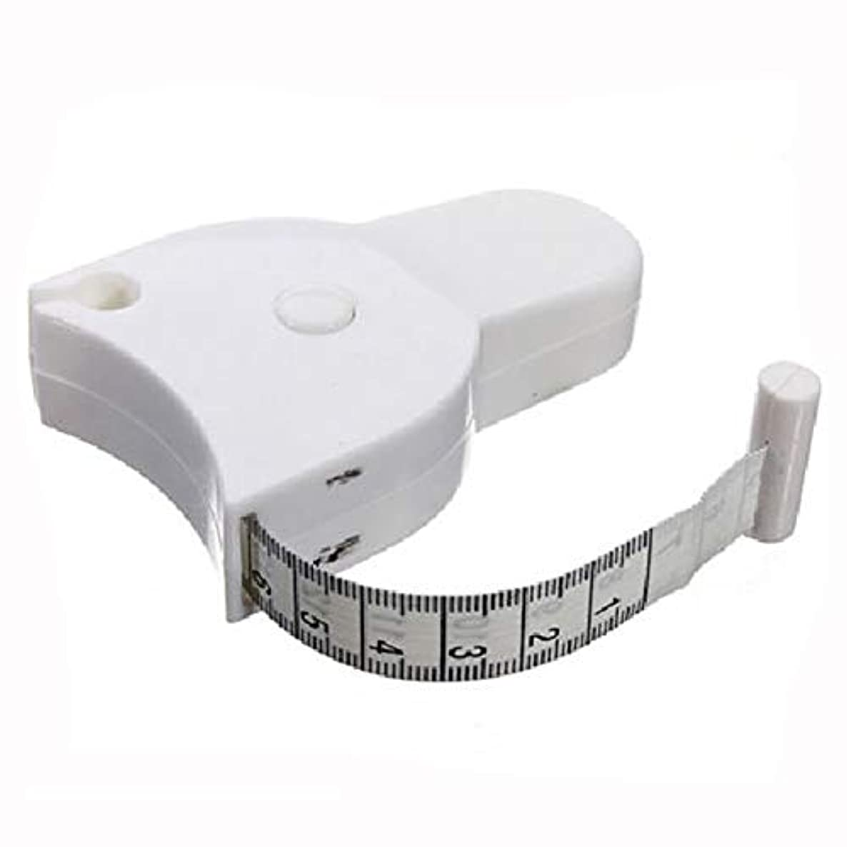 Tape Measure (MULTI-PURPOSE) Tool, Accurate White Flex Retractable Ruler, Dual-Sided, Locking Feature, Professional Long Body Tailor, Personal Trainer, Sewing, Smart Solution, Monitor - By Pro Measure