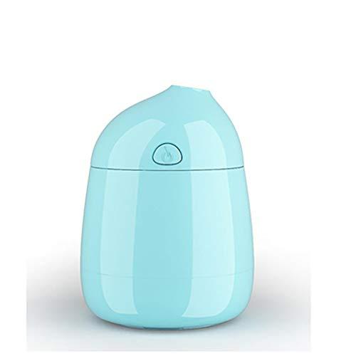 SDFSA Leiser Luftbefeuchter, Diffusor mit ätherischen Ölen, kann bis zu 8 Stunden lang verwendet Werden, USB-Kaltnebeldiffusor, geeignet für Zuhause, Büro, Schlafzimmer, Auto (Farbe : Grün)