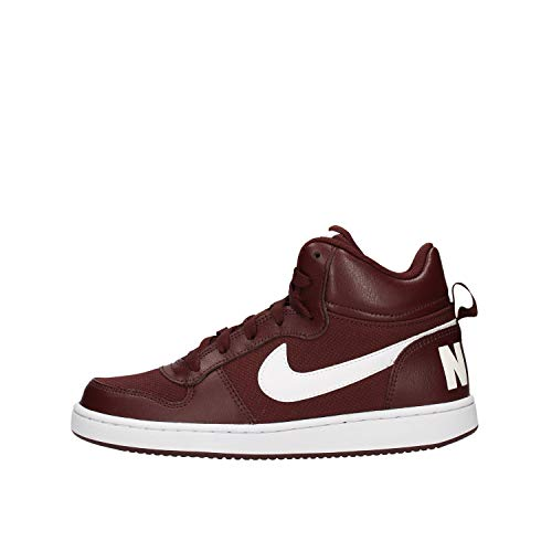 Nike Court Borough Mid PE (GS), Zapatillas de Baloncesto Hombre, Rojo (El Dorado/White 200), 40 EU
