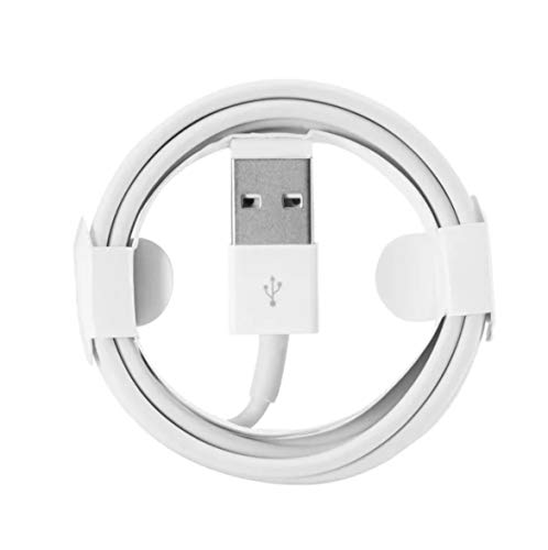 iPhone Charger Cable 1m White USB2.0 iPhone 5/5S/SE/6/6S/7/8/8 plus/X/XS/XR and iPad