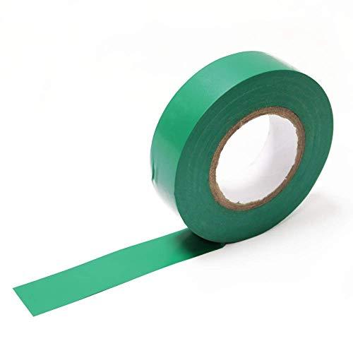 BeMatik - Nastro Isolante Verde 0,15x19mm in Bobina 20m