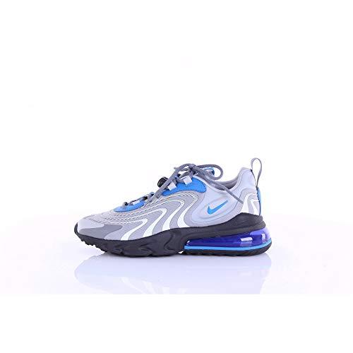 Nike Air Max 270 React ENG, Sneaker Uomo, Lt Smoke Grey/Battle Blue, 42 EU