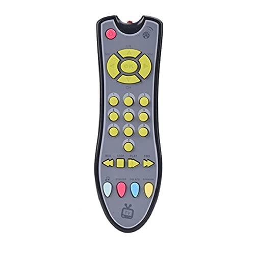 NaiCasy Los bebés simulados de Control Remoto de televisión bebé de Juguete con el Juego de aparentar Prop Enciende Juguetes educativos de Sonido Musical de Aprendizaje