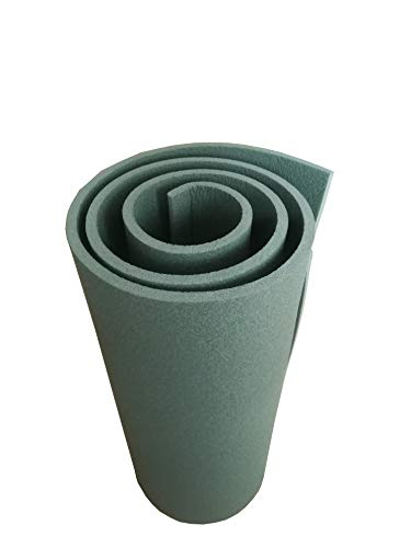 OUTDOOR Schaumstoff Isomatte 1-lagig Oliv 200x55x1,2 cm Thermomatte