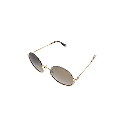 miu miu Occhiali da sole MU 69US CORE COLLECTION SVF06B occhiali Donna colore Oro lente marrone taglia 52 mm